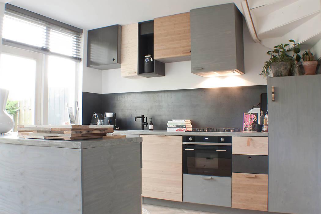 Design Keuken Groningen : Mixwood keuken in groningen keuken door studio martijn westphal