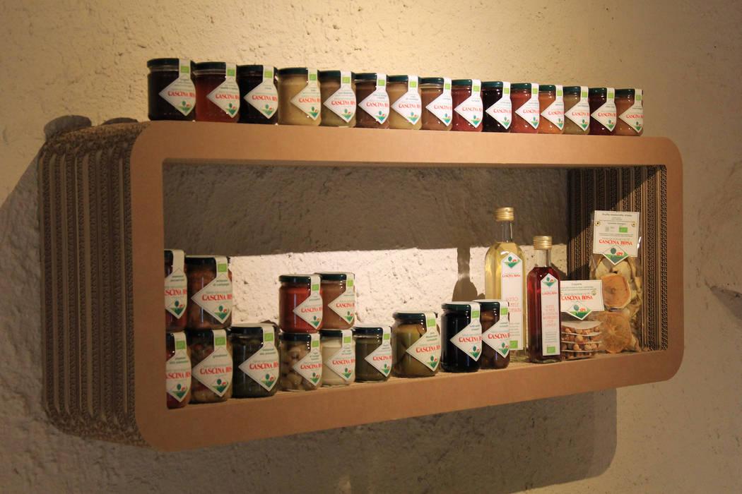 Allestimento Showroom di Cascina Rosa: Spazi commerciali in stile  di Etico Design