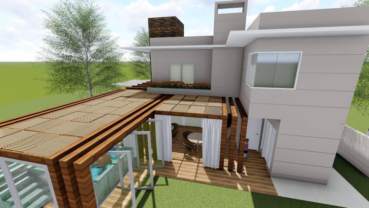 Modern style balcony, porch & terrace by Studio² Modern