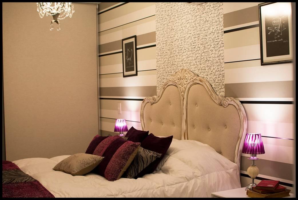 Sueño de una noche de verano...: Dormitorios de estilo  por Diseñadora Lucia Casanova,Ecléctico