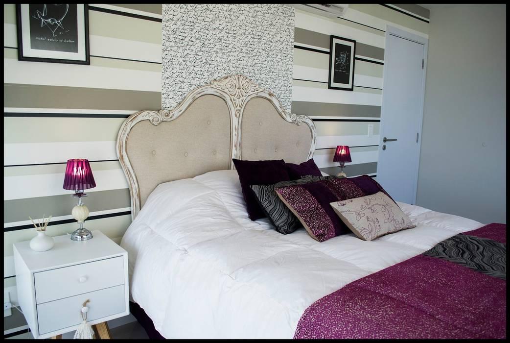 Diseño de Autor: Dormitorios de estilo ecléctico por Diseñadora Lucia Casanova