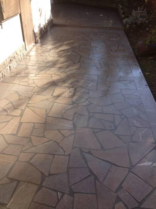 Realizzazioni Nowoczesne ściany i podłogi od Cozzi Stefano Artigiano Edile Piastrellista Nowoczesny