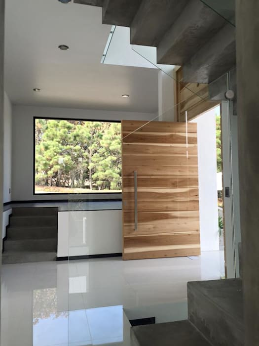 Arki3d Moderner Flur, Diele & Treppenhaus