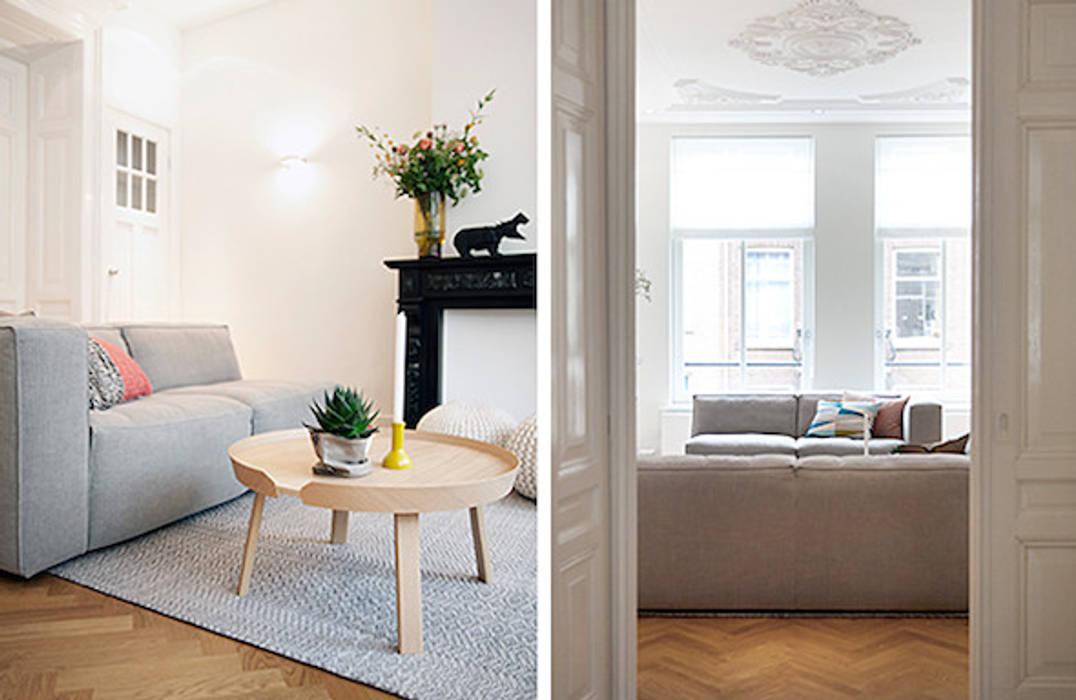 Skandinavische Wohnzimmer von Interieur Design by Nicole & Fleur Skandinavisch