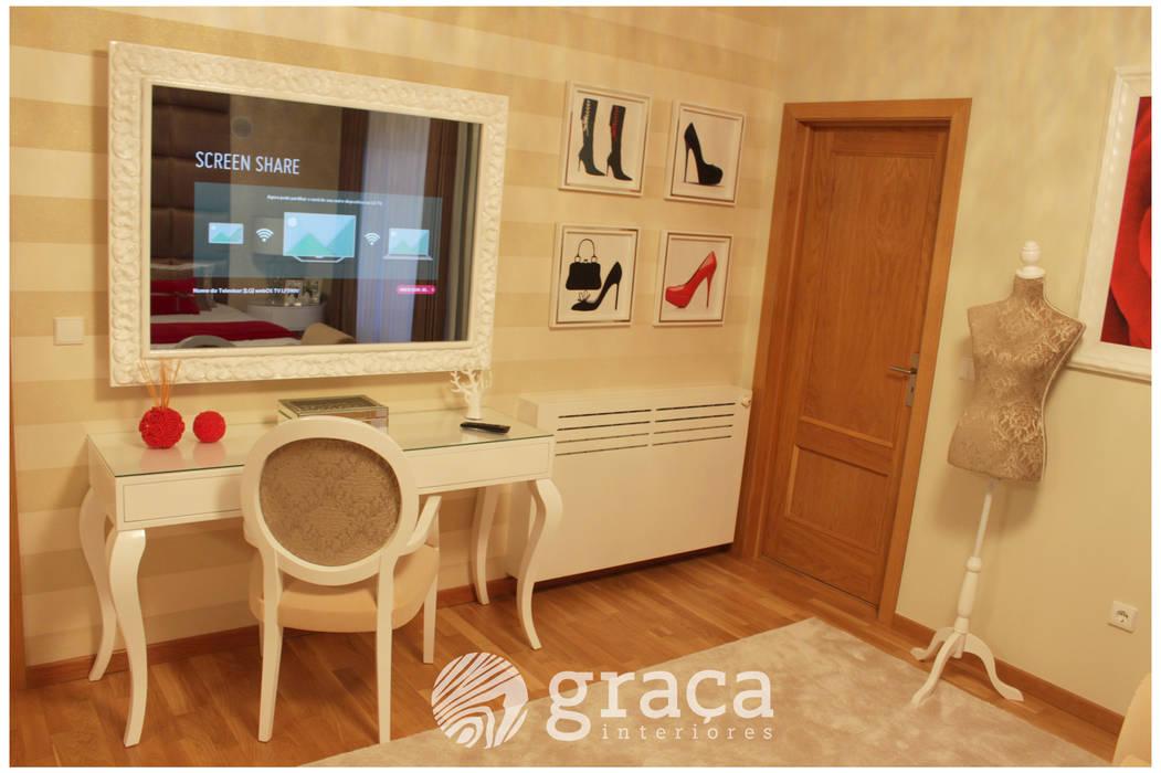 od Andreia Louraço - Designer de Interiores (Contacto: atelier.andreialouraco@gmail.com) Nowoczesny Płyta MDF