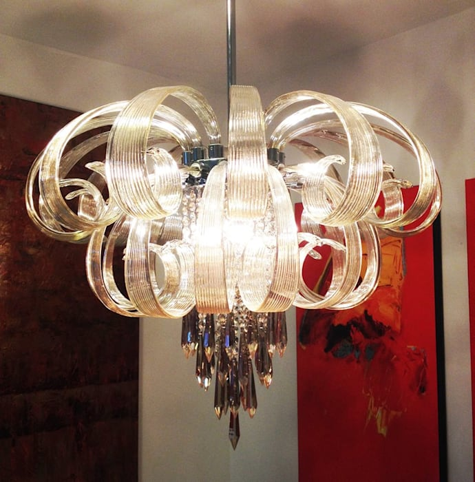Ejemplos de decoración Comedores de estilo moderno de DISEÑO INTERIOR LTDA Moderno