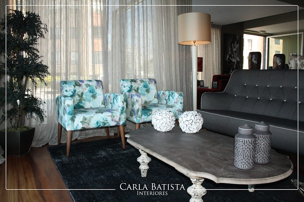 Modern living room by Carla Batista Interiores Modern