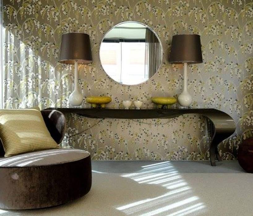 Carla Batista Interiores ห้องนั่งเล่น