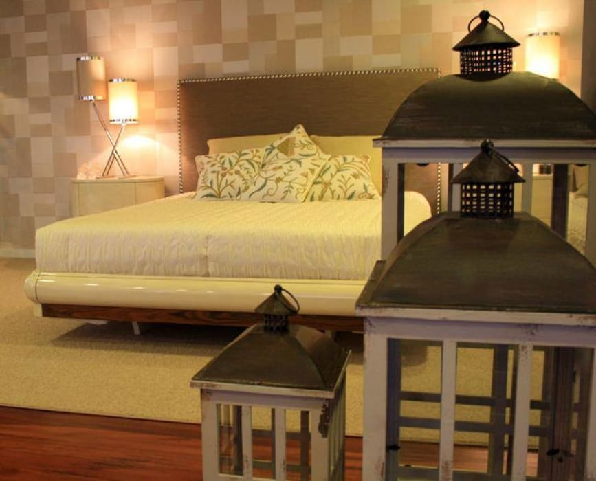 Carla Batista Interiores ห้องนอน