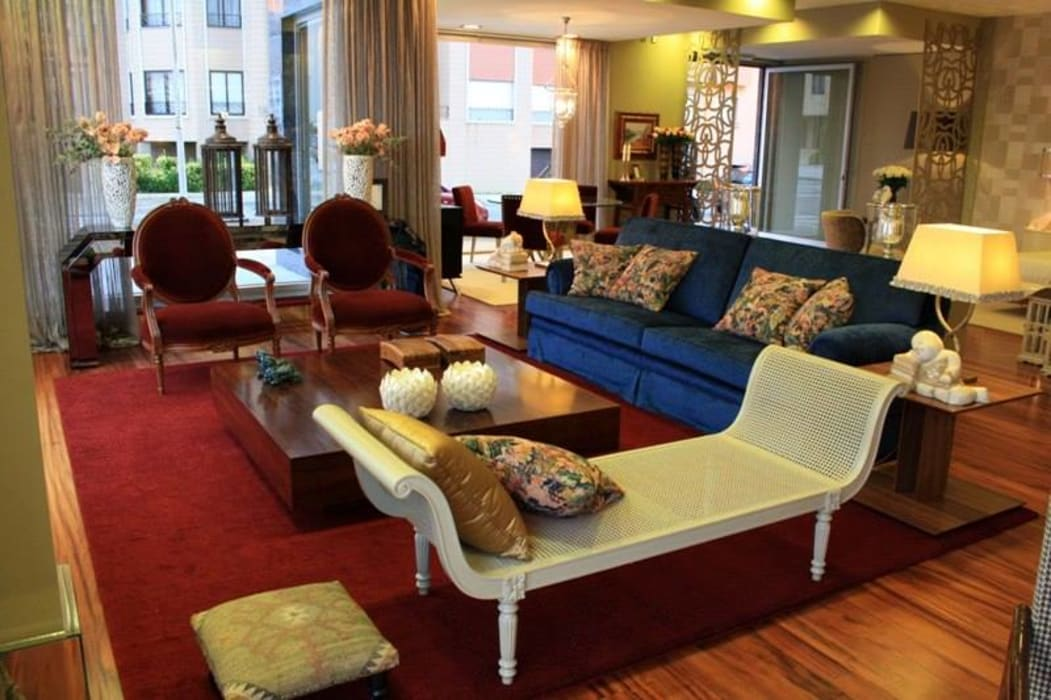 Carla Batista Interiores Modern living room