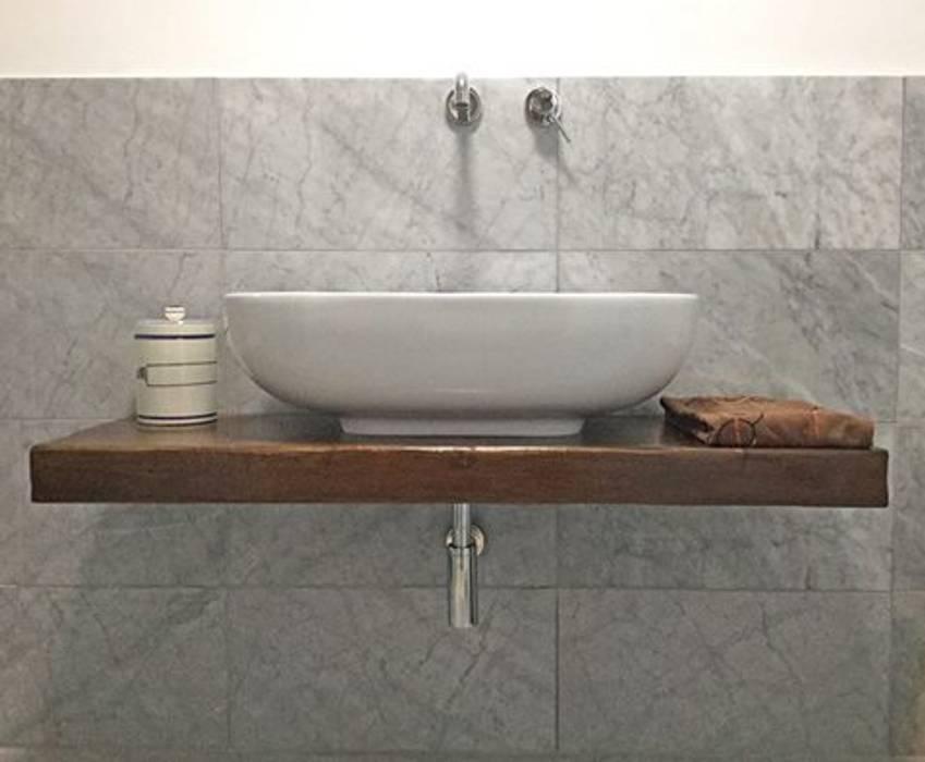 Bagno Contesini Studio & Bottega BagnoLavabi Legno massello Effetto legno