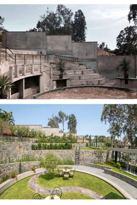 сучасний  by NIKOLAS BRICEÑO arquitecto, Сучасний