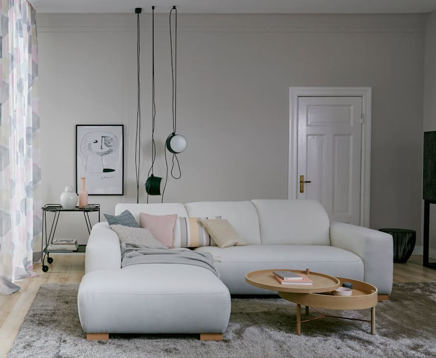 Moon: schlafzimmer von schöner wohnen-farbe,modern | homify