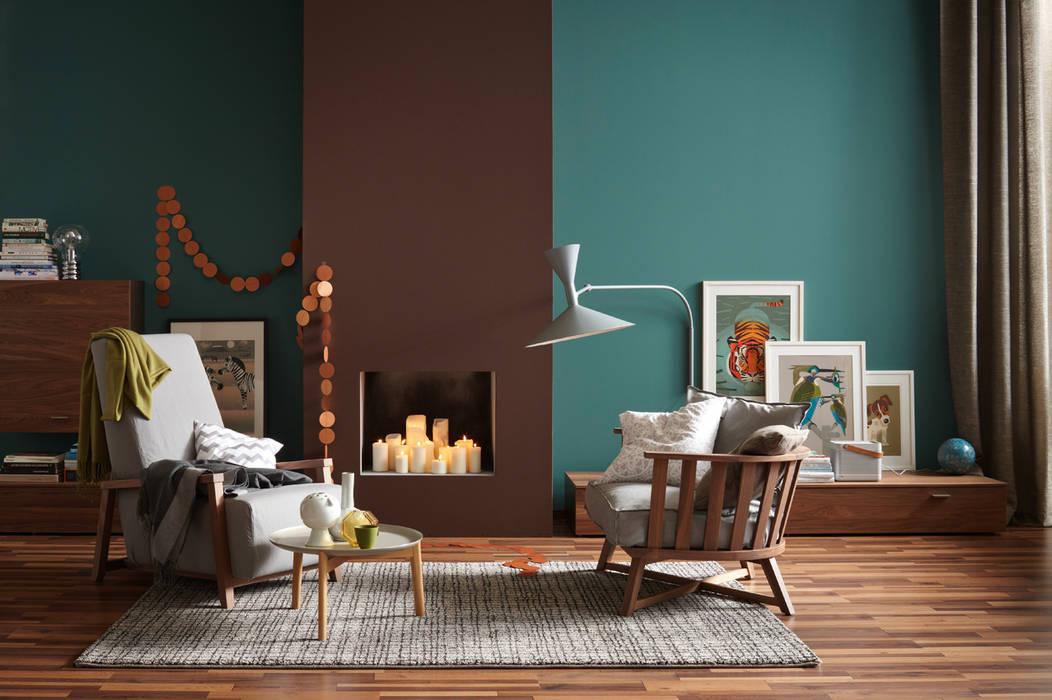 die neue klassik wohnzimmer von sch ner wohnen farbe homify. Black Bedroom Furniture Sets. Home Design Ideas