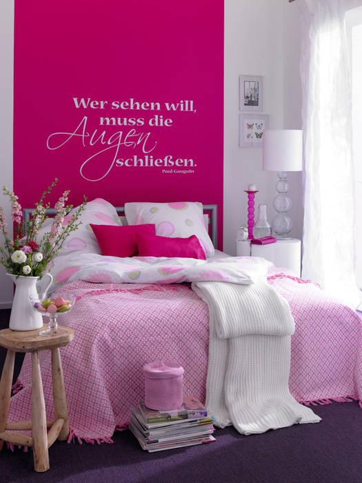 Die neue romantik: schlafzimmer von schöner wohnen-farbe | homify