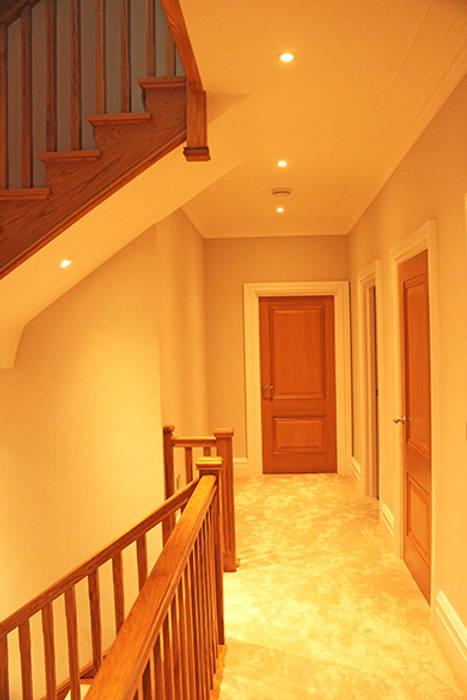 Corridor & hallway by Flairlight Designs Ltd,