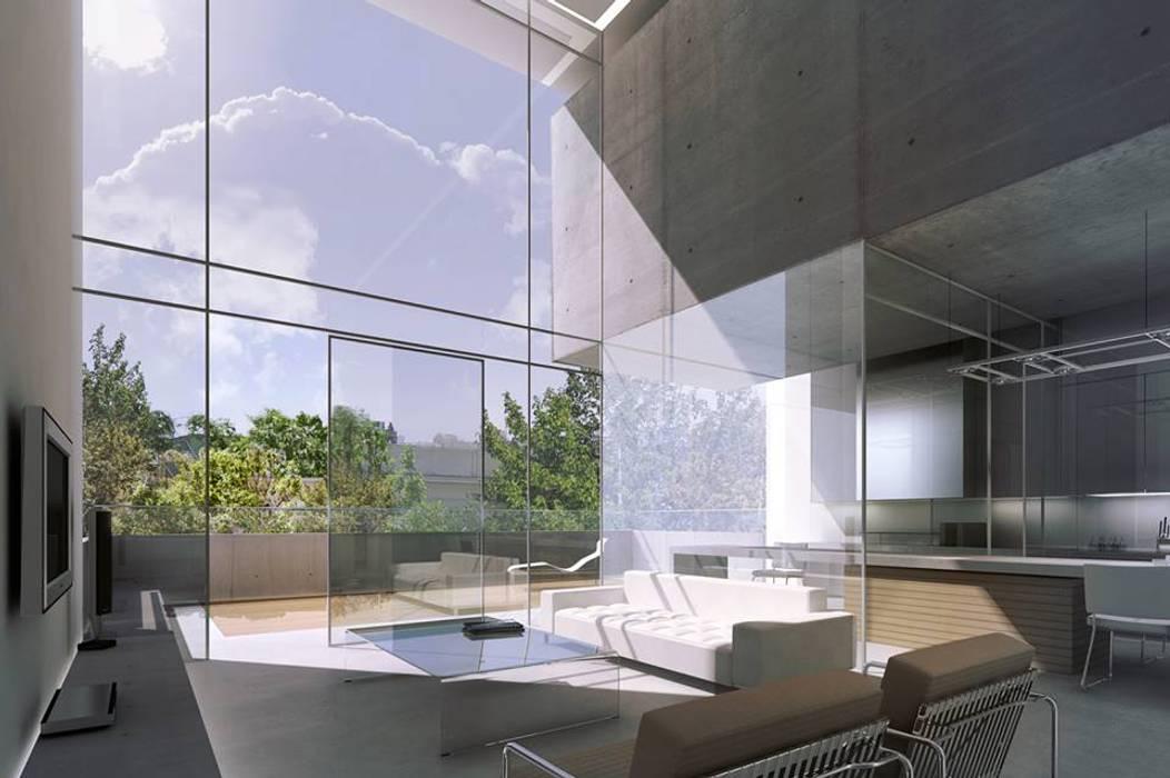 von ATECTONICA Estudio de Arquitectura Minimalistisch