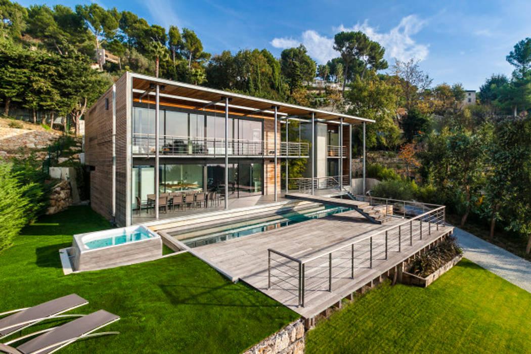 Moderne Häuser von didier becchetti architectes Modern
