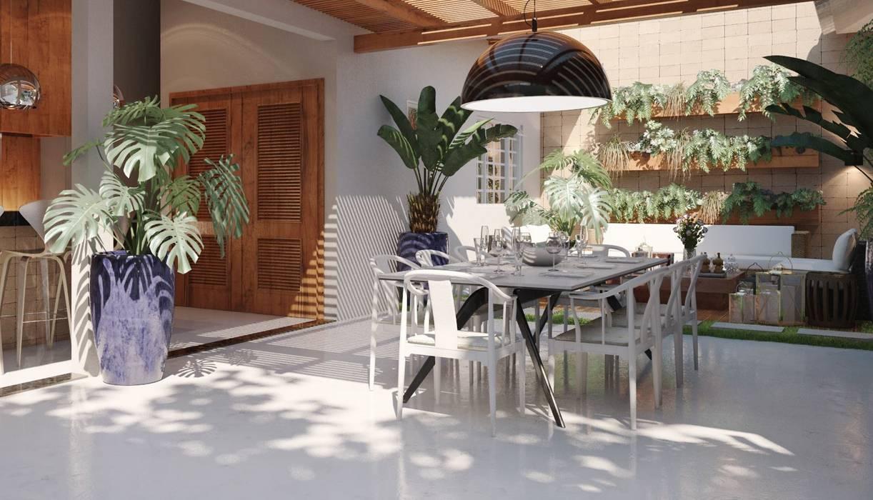 Projeto Jardins modernos por Hungaro Decor Moderno