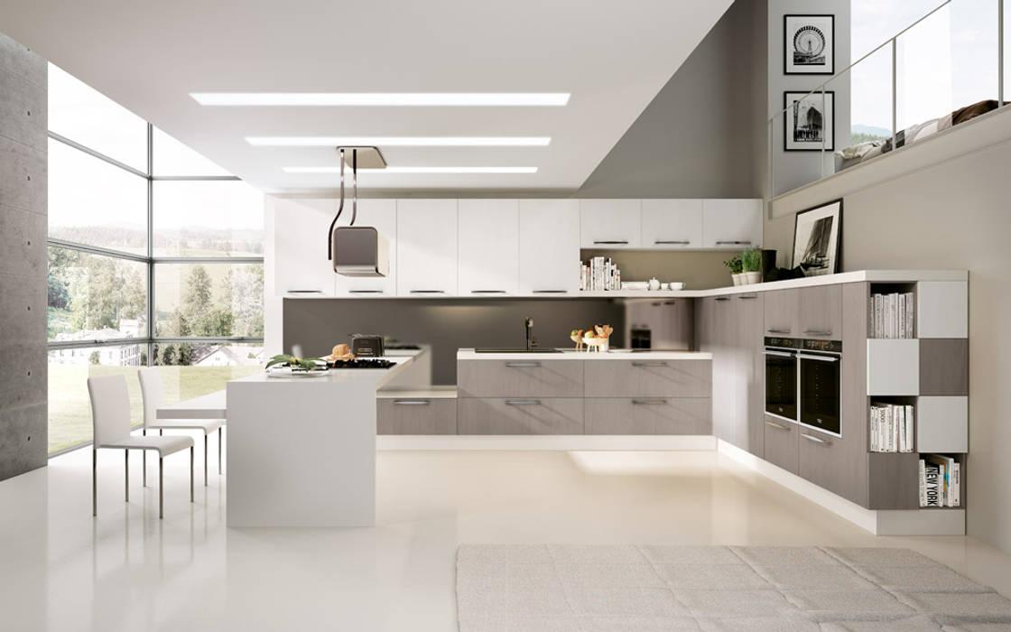 Modello Asia DIEMME CUCINE S.r.l. Cocinas de estilo moderno