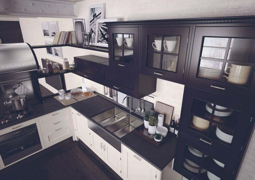 marchi cucine: cucina in stile di marchi cucine | homify
