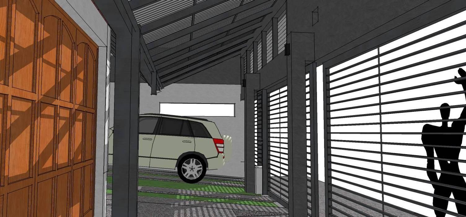 Renovación de fachada - guarda coches de St,ARq.