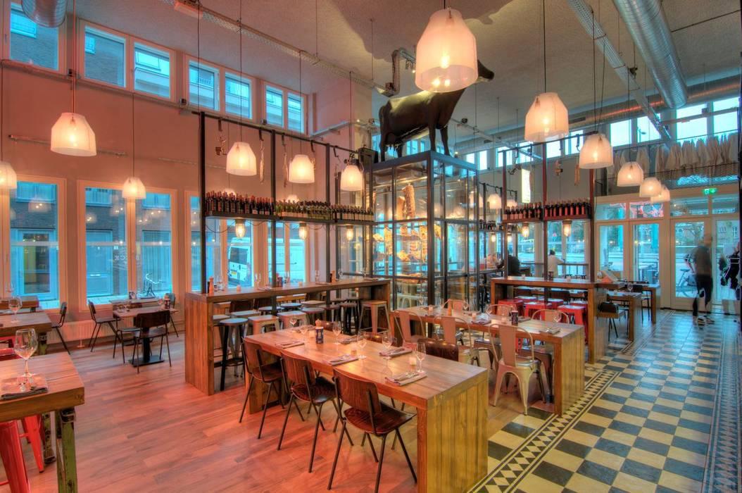 SPECK | BAR & GRILL – UTRECHT Tubbs design Industriële gastronomie