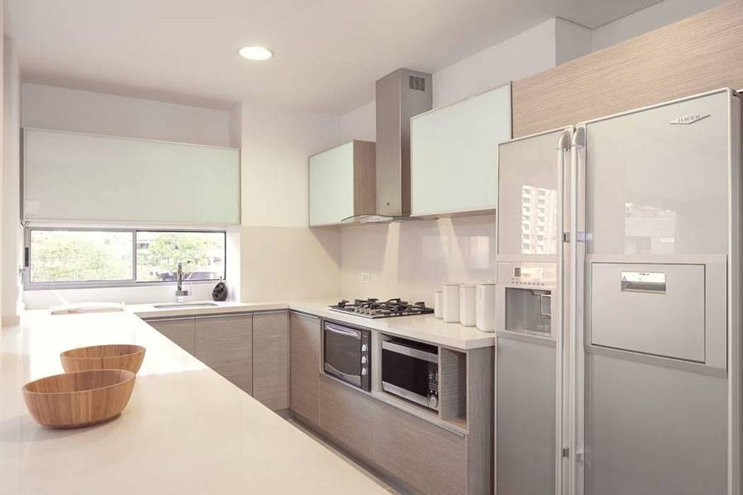 Fotografía de interiores Cocinas modernas de Ambientes Visuales S.A.S Moderno