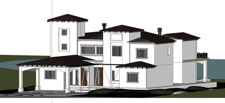 Casa en Country de Estudio 'Antonio Corteggiano y Asoc. Arquitectura'