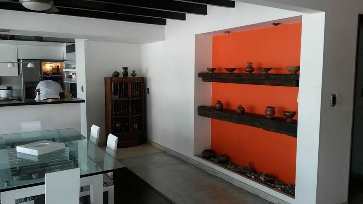 LFC Arquitectos Salones modernos