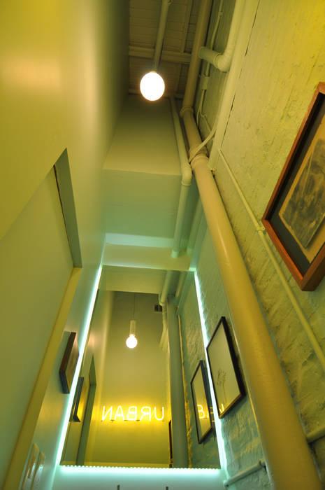 Dorrego Baños modernos de Matealbino arquitectura Moderno