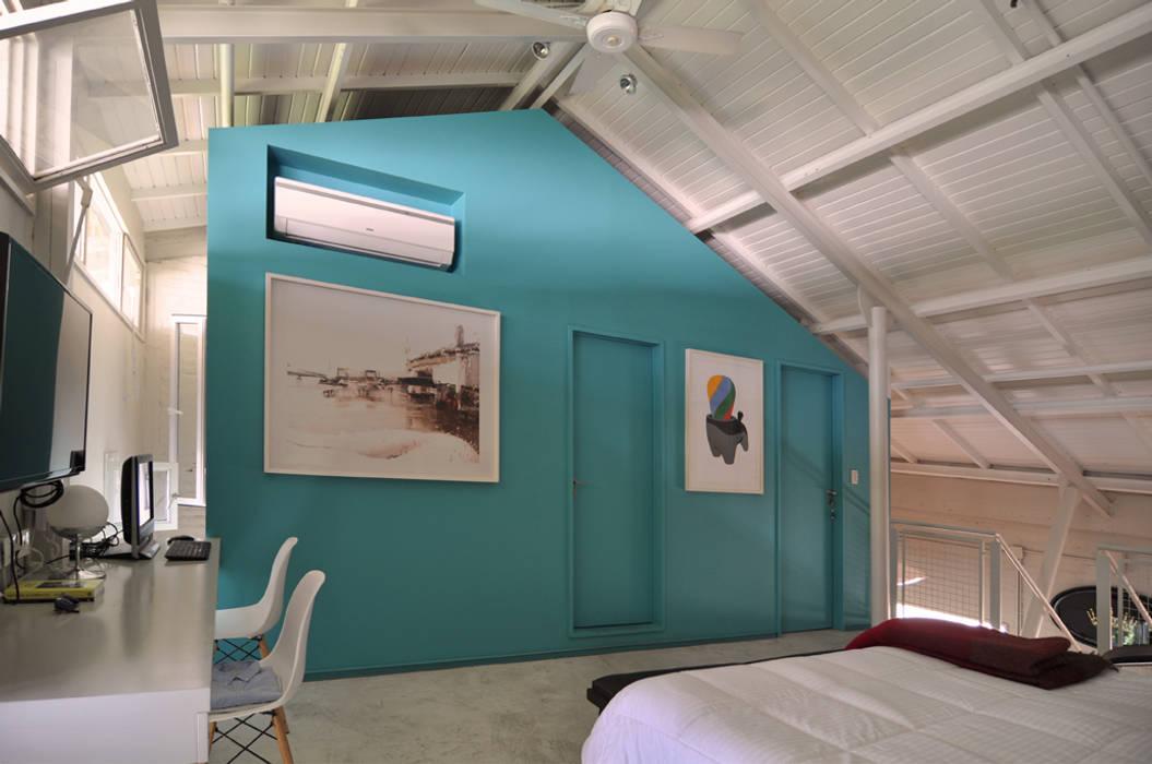 Dorrego: Dormitorios de estilo  por Matealbino arquitectura
