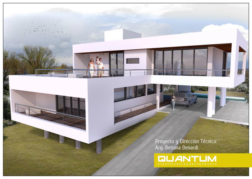 IMAGEN 3D. VIVIENDA RM.: Casas de estilo  por Betiana Denardi | Arquitecta