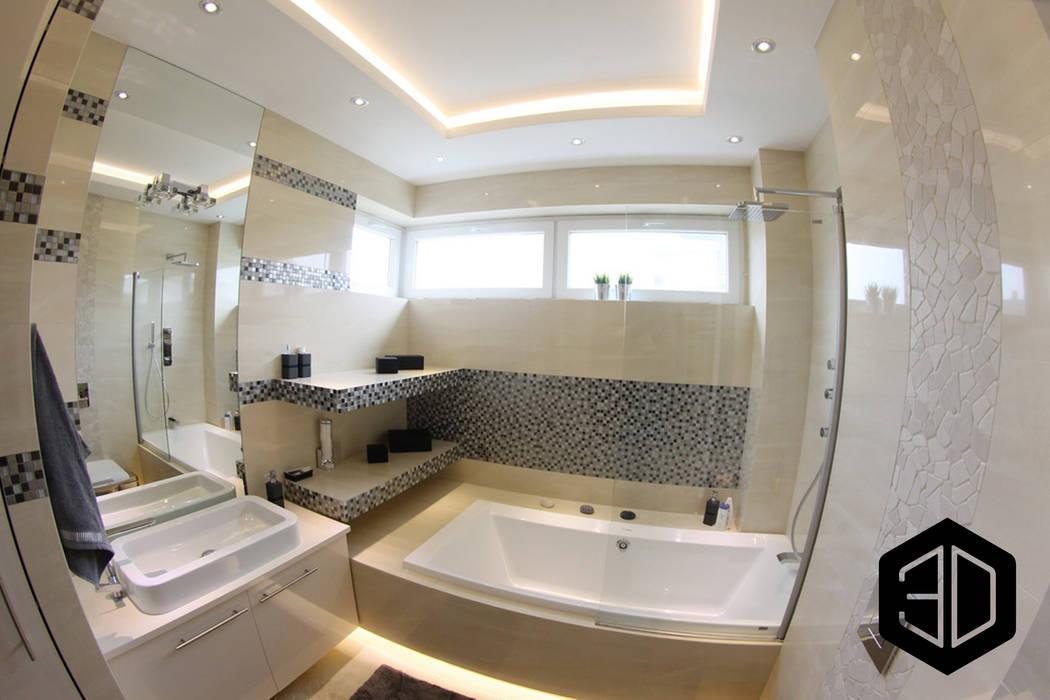 Mała łazienka Z Wanną I Parawanem Styl W Kategorii
