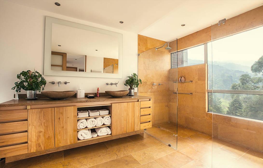 Baño principal de Cristina Cortés Diseño y Decoración Moderno