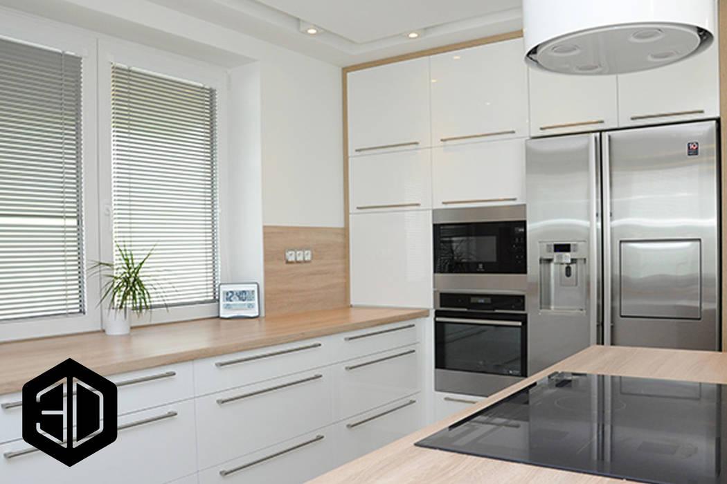 Drewniany Blat W Kuchni Styl W Kategorii Kuchnia