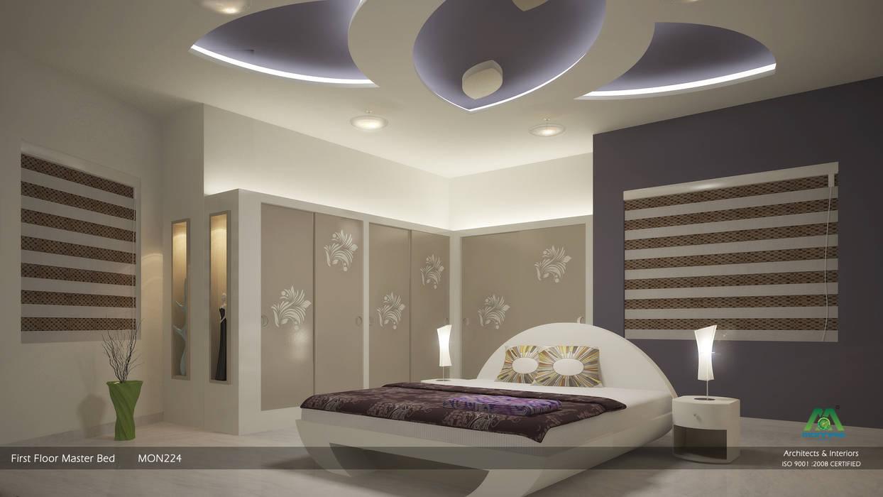 Master Bedroom Premdas Krishna Modern style bedroom