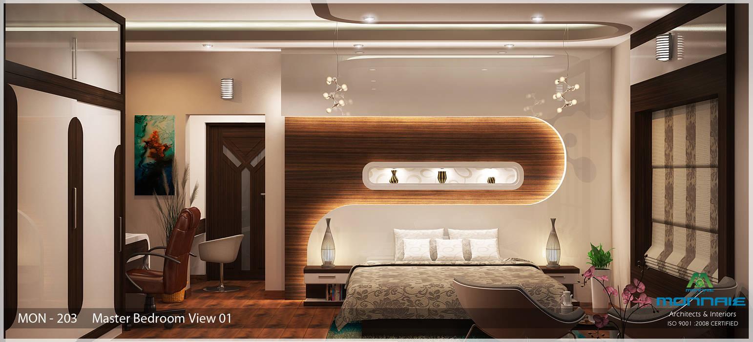 Indian Contemporary Design Premdas Krishna Modern Style Bedroom Homify