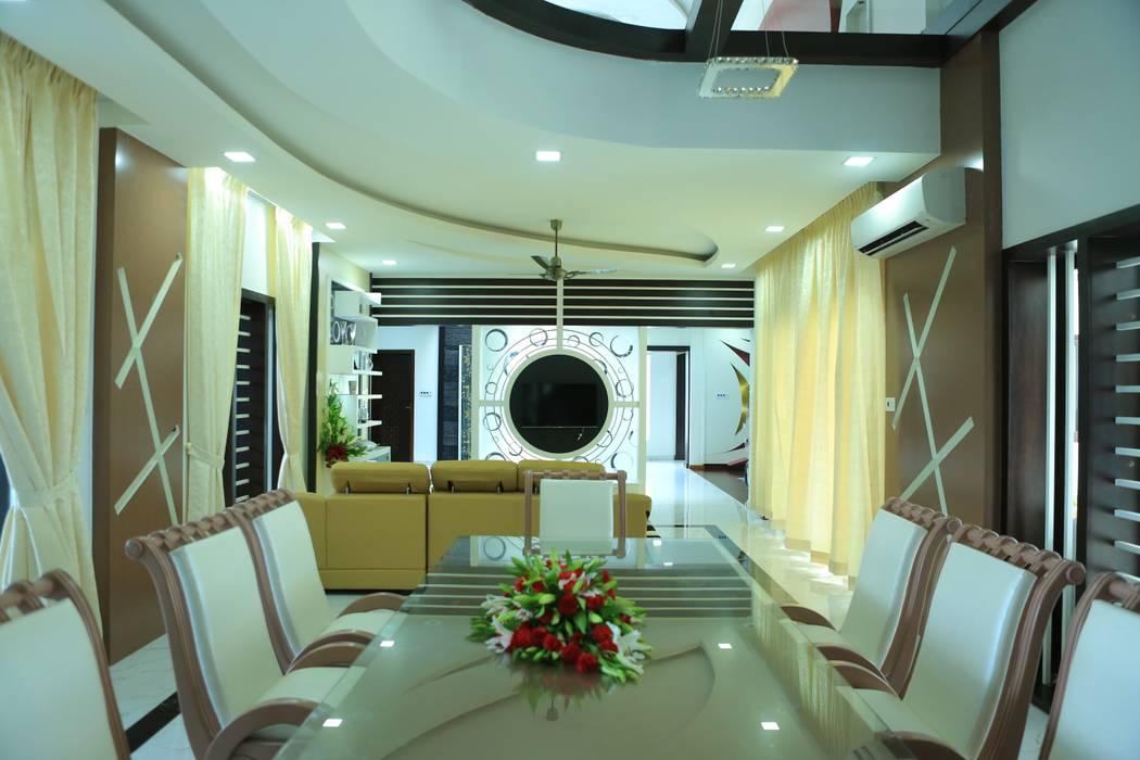 Ruang Makan Modern Oleh Premdas Krishna Modern
