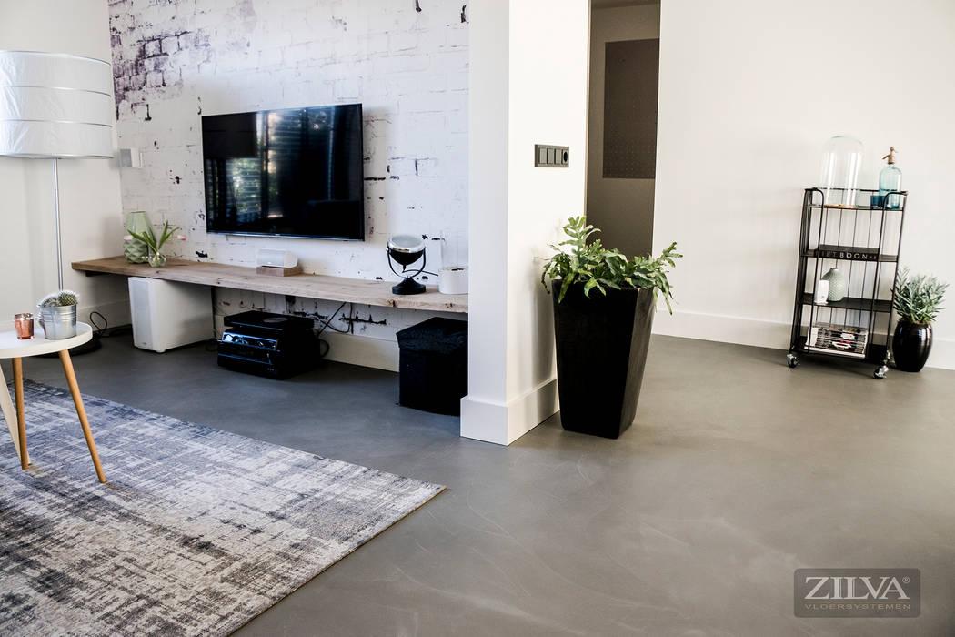 Vloeren Op Beton : Wände von zilva vloeren homify
