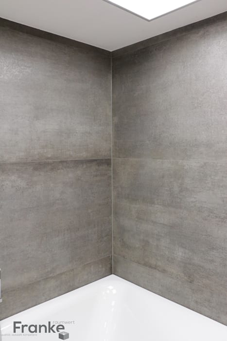 Fliesen in xxl-größe – in einer betonoptik kombiniert mit neuster ...