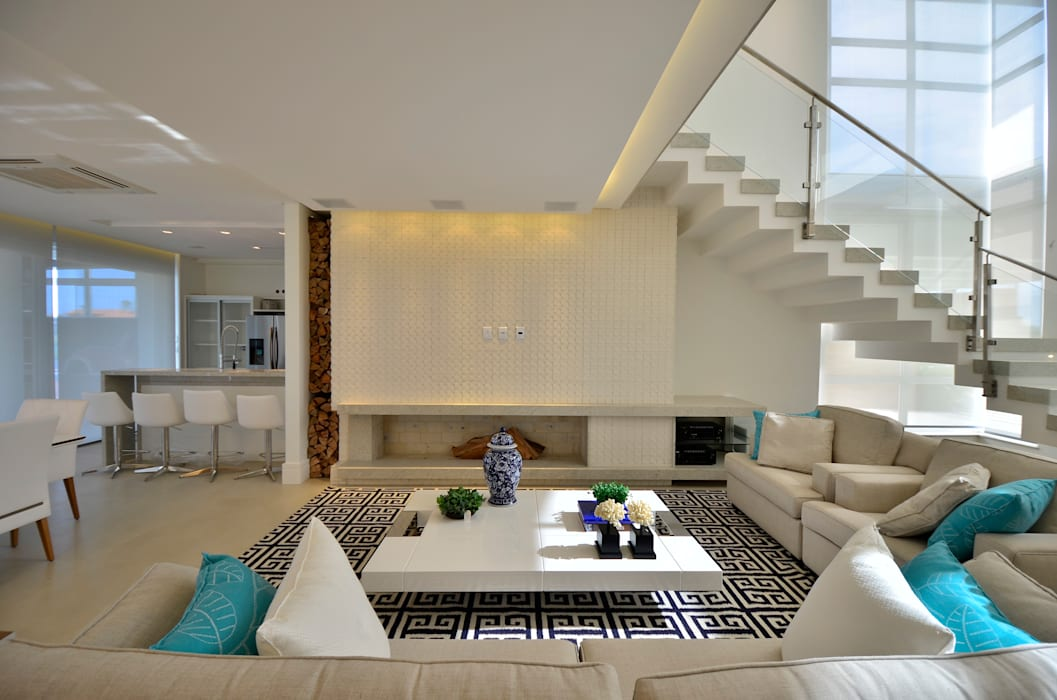 Modern living room by Biazus Arquitetura e Design Modern