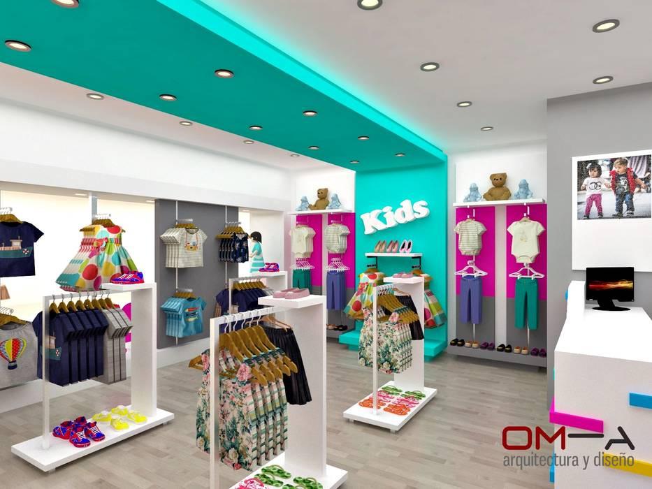 Dise o interior de tienda de ropa para ni os tiendas y for Disenos de tiendas de ropa modernas
