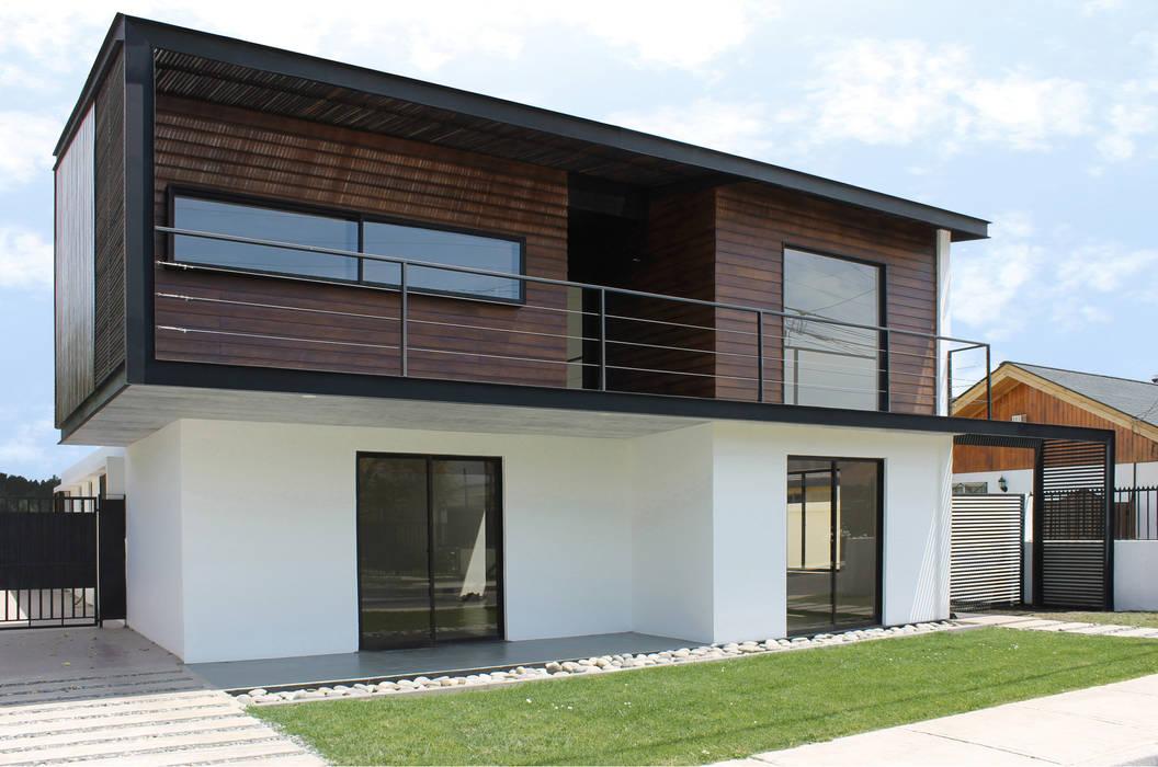 Casa Limonares Landeros y Charles Arquitectos, Chile Casas modernas: Ideas, imágenes y decoración de Landeros & Charles Architects Moderno