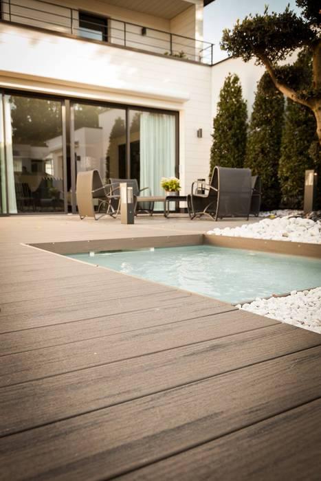 Lame de terrasse en bois composite TimberTech® Terrain: Terrasse de style  par TimberTech