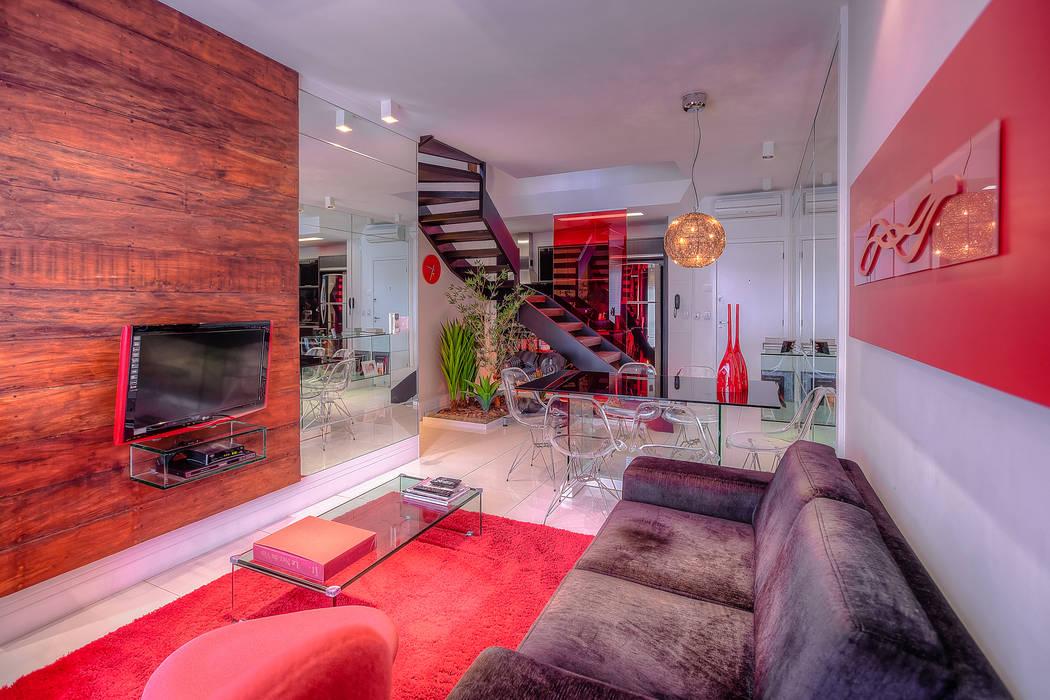 Modern living room by VL Arquitetura e Interiores Modern