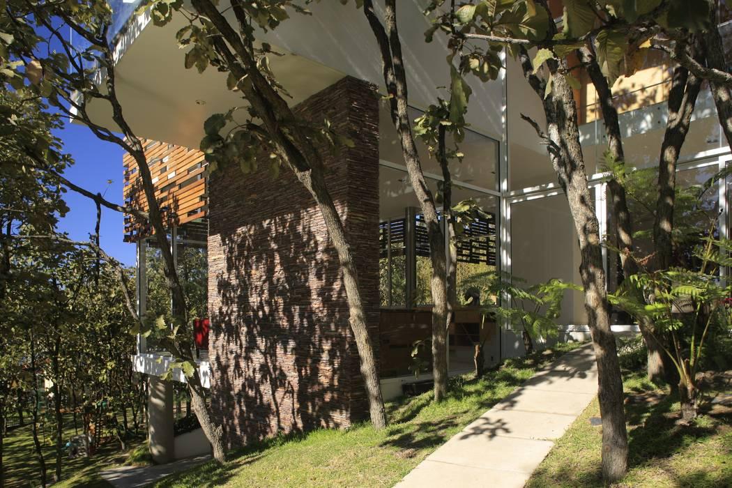 Rumah Minimalis Oleh Echauri Morales Arquitectos Minimalis Batu Kapur