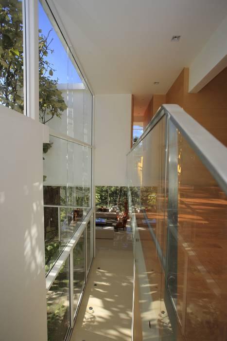Koridor & Tangga Minimalis Oleh Echauri Morales Arquitectos Minimalis Kayu Wood effect