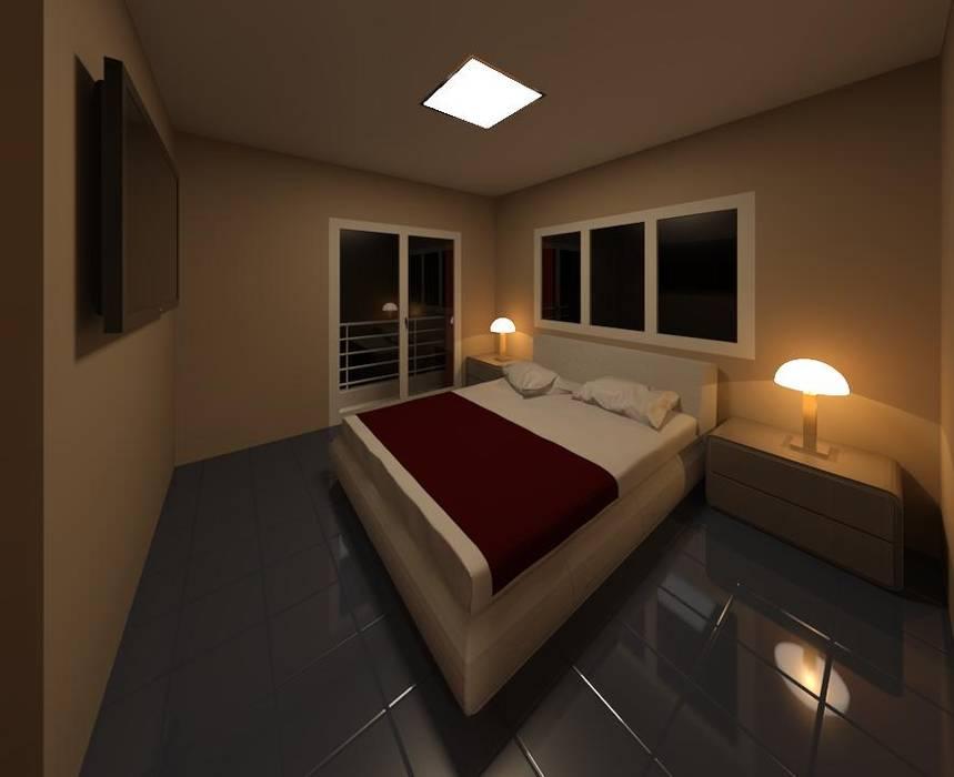 Dormitorio Principal: Dormitorios de estilo  por MMO Maximiliano José Castrillo,Moderno