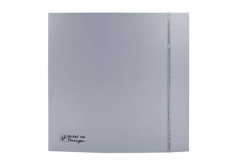 Silent 100 Design Swaroski: Bagno in stile in stile Moderno di Soler & Palau